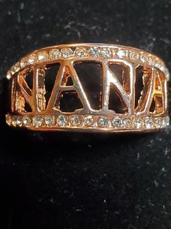 Rose Gold Filled Size 10 Ring With czs for Sale in Wenatchee,  WA