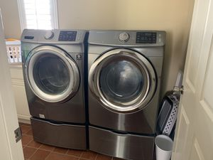 Samsung Washer and Dryer Set for Sale in Chula Vista, CA