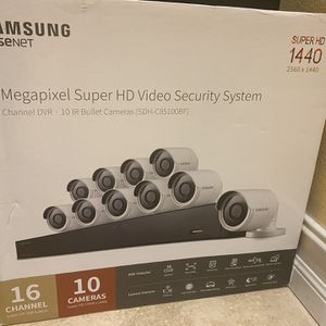 Samsung 10 HD Security Camera System for Sale in Bradenton, FL