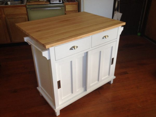 Crate And Barrel Solid Wood Drop Leaf Belmont Kitchen