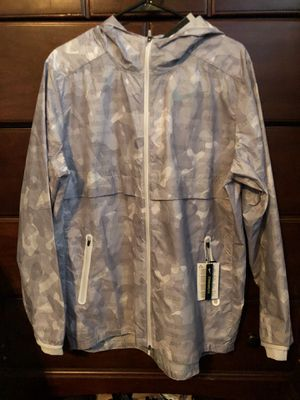 NIKE JUST DO IT RUNNING WINDBREAKER JACKET SIZE L NWT for Sale in Gainesville, VA