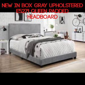 New in box upholstered bed for Sale in Sandy, UT