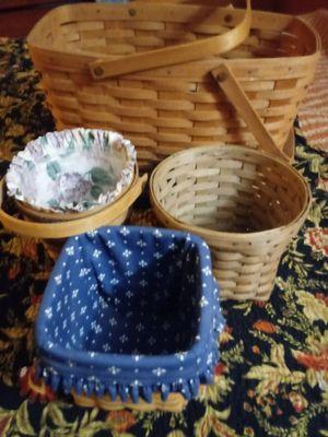 Longaberger basket bundle for Sale in California, KY