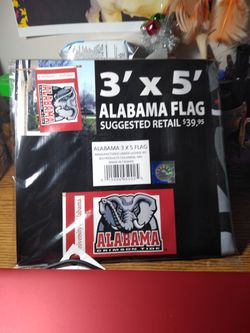 Roll tide roll Alabama flag for Sale in Valley Grande,  AL