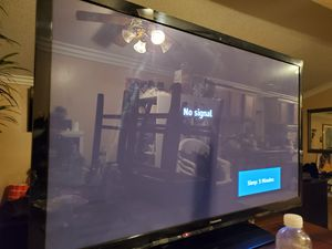 "PANASONIC 50"" PLASMA TV for Sale in Corona, CA"