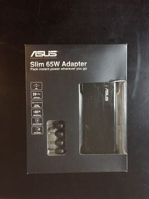 Asus Slim 65W Notebook Power Adapter for Sale in Portland, OR