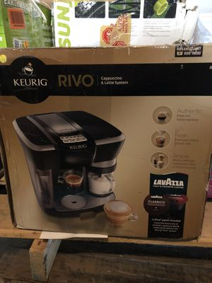 keurig rivo cappuccino and latte system for Sale in Taylorsville, UT