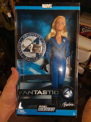 Collectible Invisible Woman Barbie for Sale in Sunbury, OH