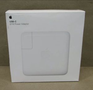 Brand New Genuine Apple Macbook Pro Charger 87w USB-C for Sale in Watertown, MA
