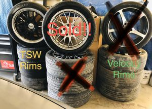 TSW, Velocity, Konig Racing/Street Rims/Wheels and tires for Sale in Fresno, CA