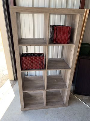Shelf can be used for books or put baskets in for multi use. New! for Sale in La Vergne, TN