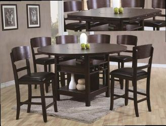 Counter height dining table. Price firm for Sale in Ontario,  CA