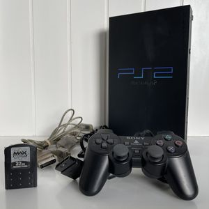 Sony PlayStation 2 PS2 Fat SCPH-50001 Console With Controller, Memory Card & Cords for Sale in Encinitas, CA