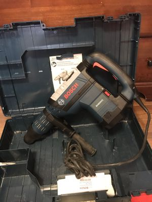 Bosch rotary hammer drill like new big for Sale in Silver Spring, MD