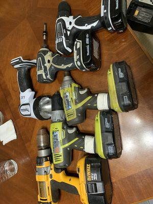 Drills. All work and have batteries and chargers. $300 for all or best offer for Sale in Middletown, NJ