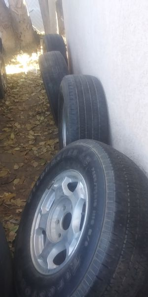 Chevy rims and tires for Sale in Fresno, CA