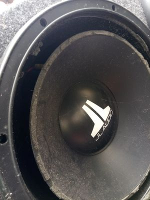 """JL audio w3 12"""" speakers in ported box for Sale in Port St. Lucie, FL"""