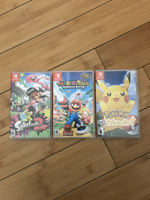 Nintendo switch games. for Sale in Chandler, AZ