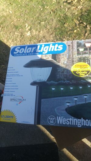 12 Westinghouse solar landscape lights for Sale in Onawa, IA