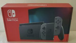 **NEW** Nintendo Switch Console Gray Joy-Cons 32GB V2 BRAND NEW 2019 for Sale in Silver Spring, MD