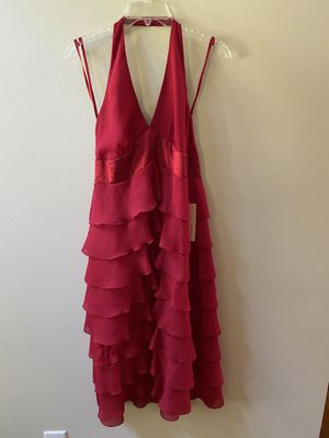 Size 6 Amanda Smith red cocktail dress for Sale in Dublin, GA