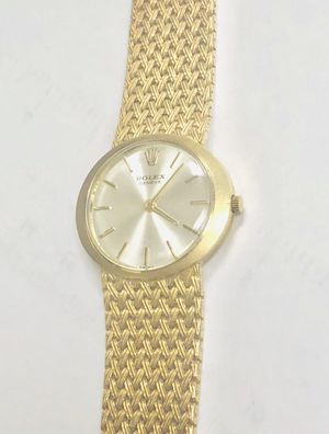 Authentic Vintage 18K SOLID GOLD 25mm Rolex Ref. 3657 for Sale in Miami, FL