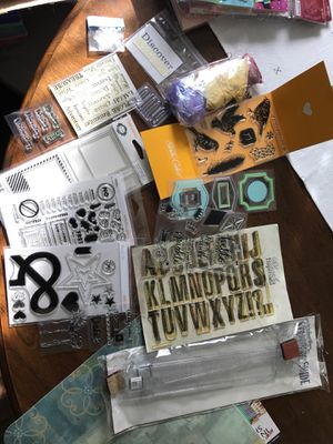 Clear stamps and stamping guide for Sale in Carrollton, TX