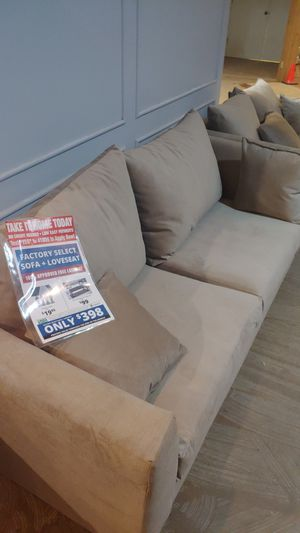 Factory select sofa and loveseat for Sale in Washington, IL