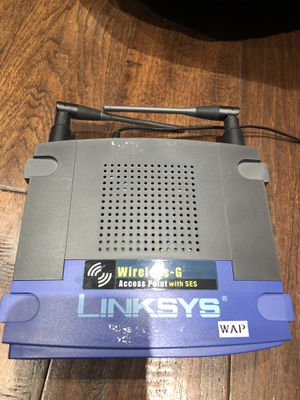 Linksys wireless-G 2.4Ghz for Sale in Coppell, TX