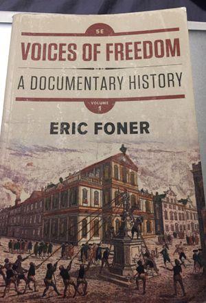 U.S. History book for Sale in El Monte, CA