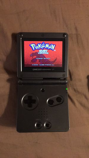 GameBoy Advance SP (AGS-101) w case & games for Sale in Weston, WV