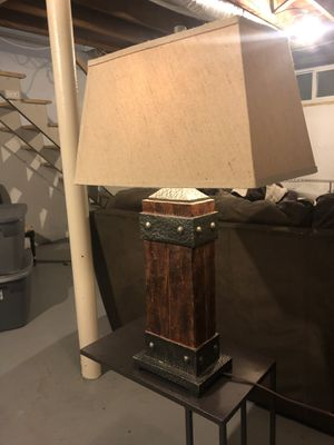 Masculine lamp for Sale in Waltham, MA
