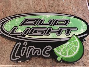 Bud Light Lime Neon Sign for Sale in Aldie, VA