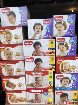 Diapers box or packs for Sale in Lehigh Acres, FL