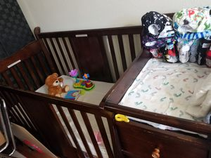 Baby crib+changing table+drawers for Sale in Denton, TX