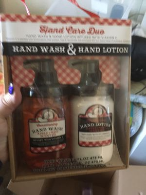 Hand wash and lotion new for Sale in Aberdeen, WA