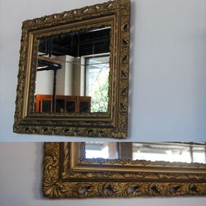 Antique Rectangular Gesso Mirror for Sale in Seattle, WA