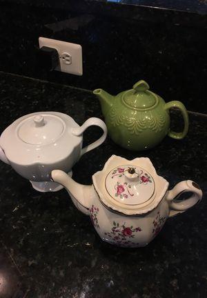 Tea Pot Collection for Sale in Alexandria, VA