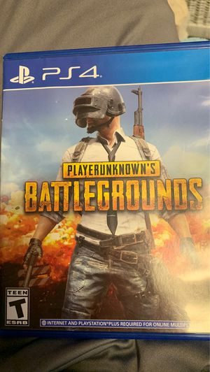 PUBG for PS4 for Sale in Hastings, NE