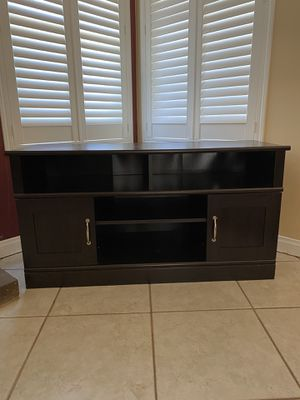 TV stand-Entertainment Center for Sale in Moreno Valley, CA