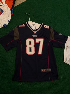 Rob gronkowski patriots NFL football jersey for Sale in Carlsbad, CA