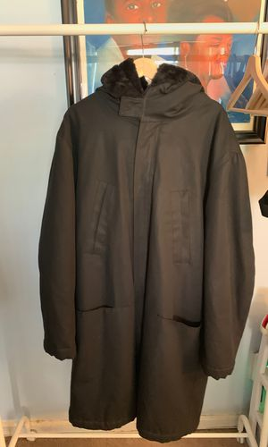 Raf Simons Fuax Fur Lined Parka for Sale in Washington, DC