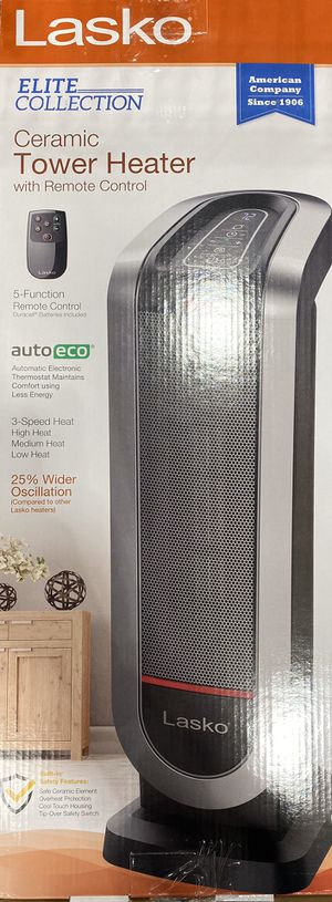 Lasko Ceramic Tower Heater for Sale in Clovis, CA