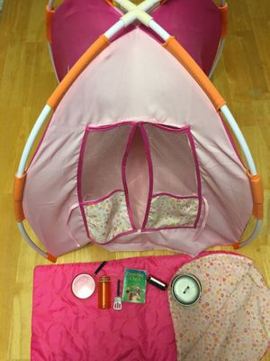 "Camping Tent for 18"" Dolls for Sale in Oviedo, FL"