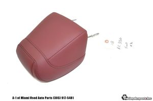 15 16 17 18 LEXUS RC350 OEM FRONT SEAT HEADREST LEATHER RED for Sale in Hialeah, FL