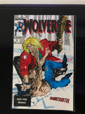 Original Wolverine Comic Book for Sale in Millville, NJ