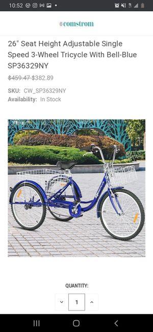 New 3 Wheel Bike for Sale in Norwalk, CA