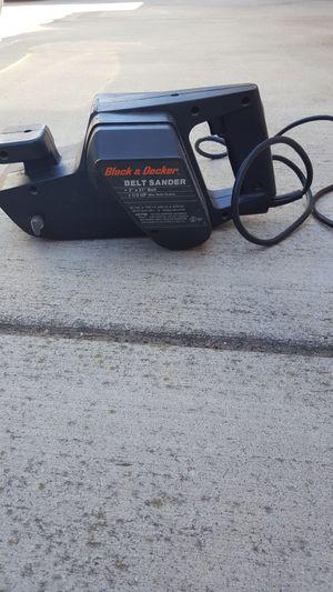 BLACK & DECKER BELT SANDER for Sale in Escondido, CA