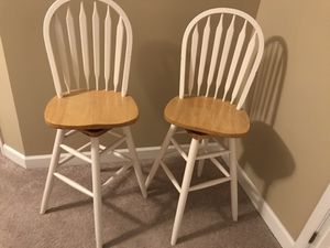 Swivel bar stools for Sale in Raleigh, NC