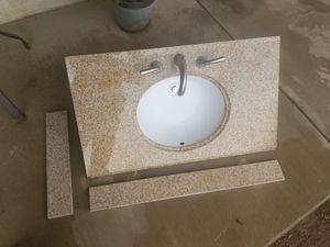 Granite bathroom top for Sale in Hesperia, CA